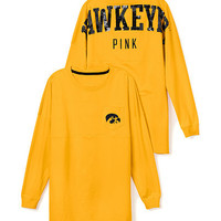 University of Iowa Bling Varsity Crew - PINK - Victoria's Secret