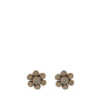 Opal Flower Stud Earrings | Grey | Accessorize