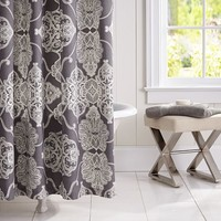 ALANA MEDALLION SHOWER CURTAIN