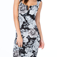 Rosy Outlook Bodycon Dress