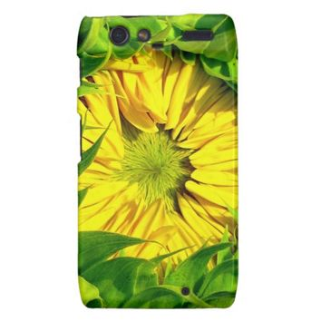 Sunflower Awakes Motorola Droid Razr Case