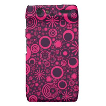 Rounds, Pink-Purple Motorola Droid Razr Case