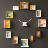 Switched On Set: Passe Partout Clock from Dutch by Design