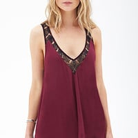 Lace Scoop-Neck Tank