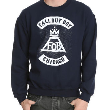 Fall Out Boy Logo Crew Pullover