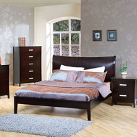 Stuart Contemporary Platform Bed