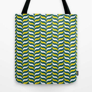 Broccoli and Cheese Mod Tote Bag by Ashley