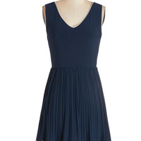 ModCloth Mid-length Sleeveless A-line Personal Essayist Dress