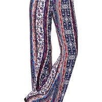 LA Hearts Ethnic Crepe Beach Pants at PacSun.com