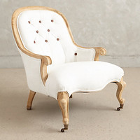 Tufted Emilie Armchair by Anthropologie