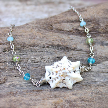 Hawaii Shell Anklet - Seashell Jewelry from Hawaii - Sea Gypsy Ankle Bracelet - Hawaiian Jewelry - Seashell Anklet Gypsy Boho Shell Jewelry
