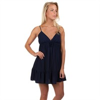 Love, Fire Juniors Cinched Waist Mini Dress with Ruffled Hem at Von Maur