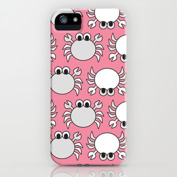 Don't Be Crabby iPhone & iPod Case by tzaei | Society6