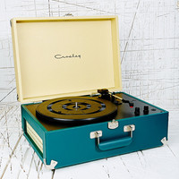 Crosley Keepsake Turntable UK Plug in Teal - Urban Outfitters