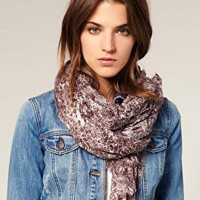 Warehouse | Warehouse Snake Print Scarf at ASOS