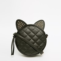 ASOS Studded Cat Ears Cross Body Bag