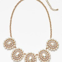 BP. Pearl Cluster Statement Necklace (Juniors)