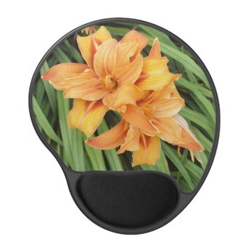 Orange Daylilies Gel Mousepad
