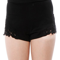 Papaya Clothing Online :: BACK-ZIPPER SHORTS