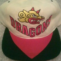 Barcelona Dragons Reebok Snapback VTG 90s Rare Authentic World League Football
