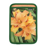 Orange Daylilies iPad Mini Sleeve