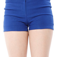 Papaya Clothing Online :: BELTED SOLID SHORTS