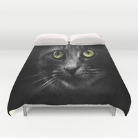 looking at you Duvet Cover by  Alexia Miles photography