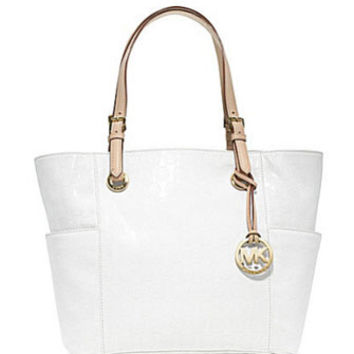 Jet Set Monogram East/West Tote Bag