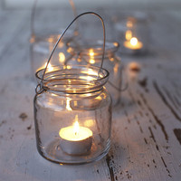 Clear Hanging Votives - NEW ? Cox & Cox, the difference between house and home.