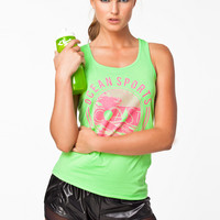Sleeveless training top by ONLY PLAY - RETRO BEACH TOP
