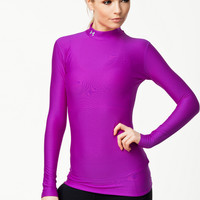 Training top from UNDER ARMOUR - COMPRESSION MOCK