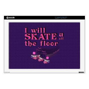 Eat My Dust – Roller Skating Laptop Skin