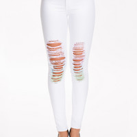 Multicolor Jeggings from WILDFOX - MARIANNE JEANS