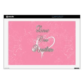 Love One Another Scroll Work Laptop Skin