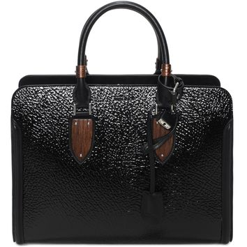 Wood Plate Heroine Open Tote Alexander McQueen | Top Handle | Bags |