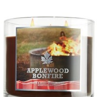 Bath and Body Works Applewood Bonfire Candle 14.5 Oz
