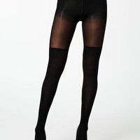 OTK MODAL SOCK TIGHTS - black tights