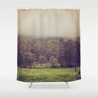 Wanderlust Shower Curtain by Dena Brender Photography