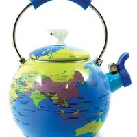 Novelty world globe kettle