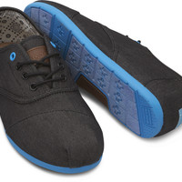BLACK DENIM BLUE POP MEN'S CORDONES
