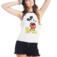 Mickey Mouse™ Baseball Tee | Wet Seal