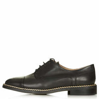KARA Chain Loafers - Black