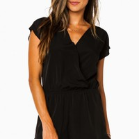 ELISE ROMPER IN BLACK