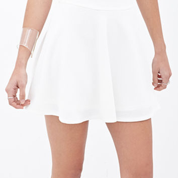 Textured Knit Skater Skirt | FOREVER 21 - 2000059862