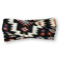 See You Monday Black Tribal Print Headband