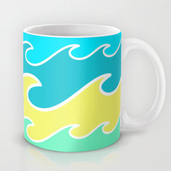 Ocean Waves Mug by tzaei | Society6