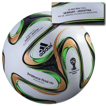 adidas Brazuca 2014 Final Official Match-Specific Ball (Germany vs. Argentina) -