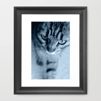 Tiger Lili 6 Framed Art Print by Steffi ~ findsFUNDSTUECKE