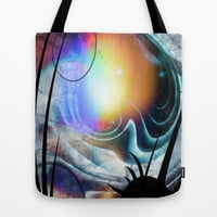 View from Alien Ship Tote Bag by minx267