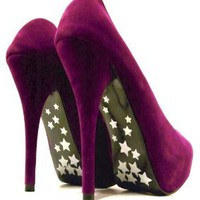 Stars in A Night Sky Heels